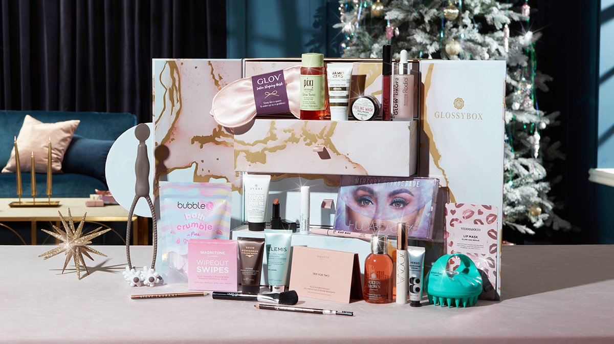 glossybox-advent-calendar-2021-full-reveal