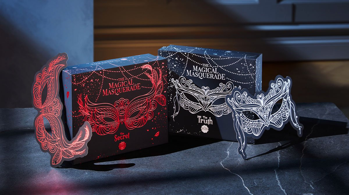 The Story Behind Our Special Dual Design 'Magical Masquerade' October GLOSSYBOX!