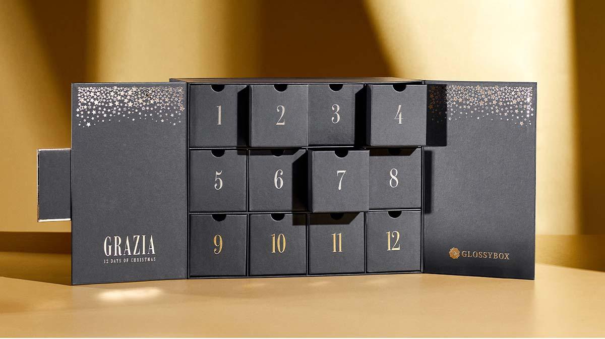 SPOILER! The 12 Beauty Buys Hidden Behind The Doors Of Our 2021 Grazia Advent Calendar!