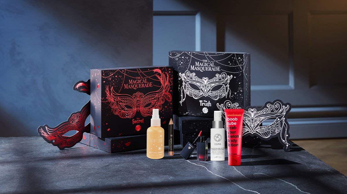 October 'Magical Masquerade' Full Reveal: Everything Inside This Month's Dual Design Boxes...