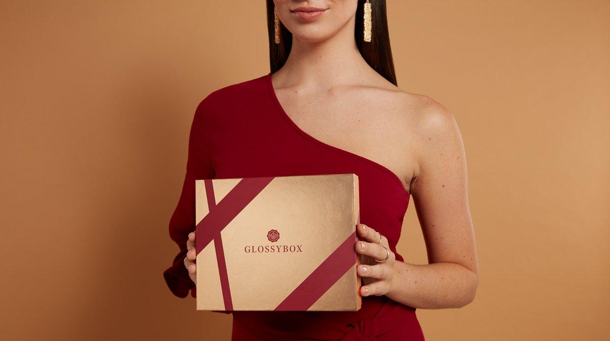 GLOSSYBOX-November-2019-gold-and-chanpagne