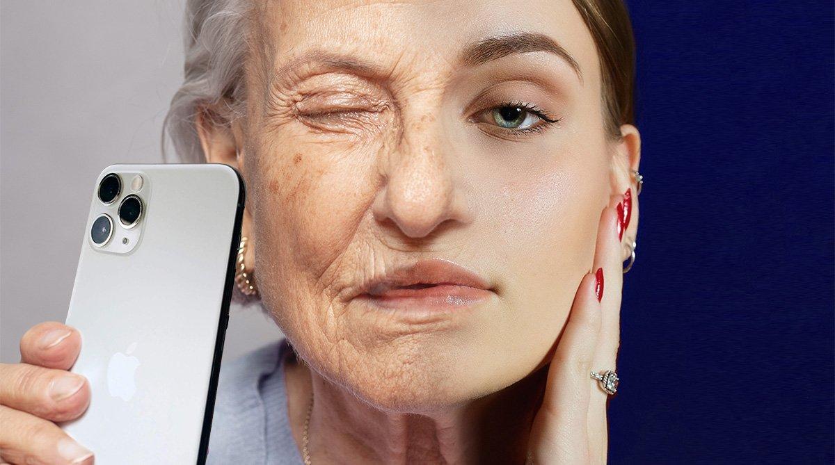 Digital Aging: Lässt mich mein Telefon wirklich älter aussehen?