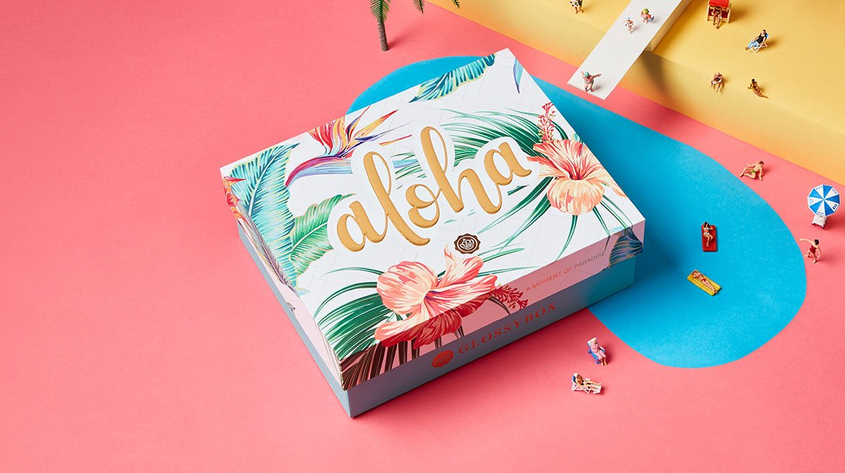 GLOSSYBOX Juli: Hawaii-Feeling zu Hause mit deiner Aloha Edition!