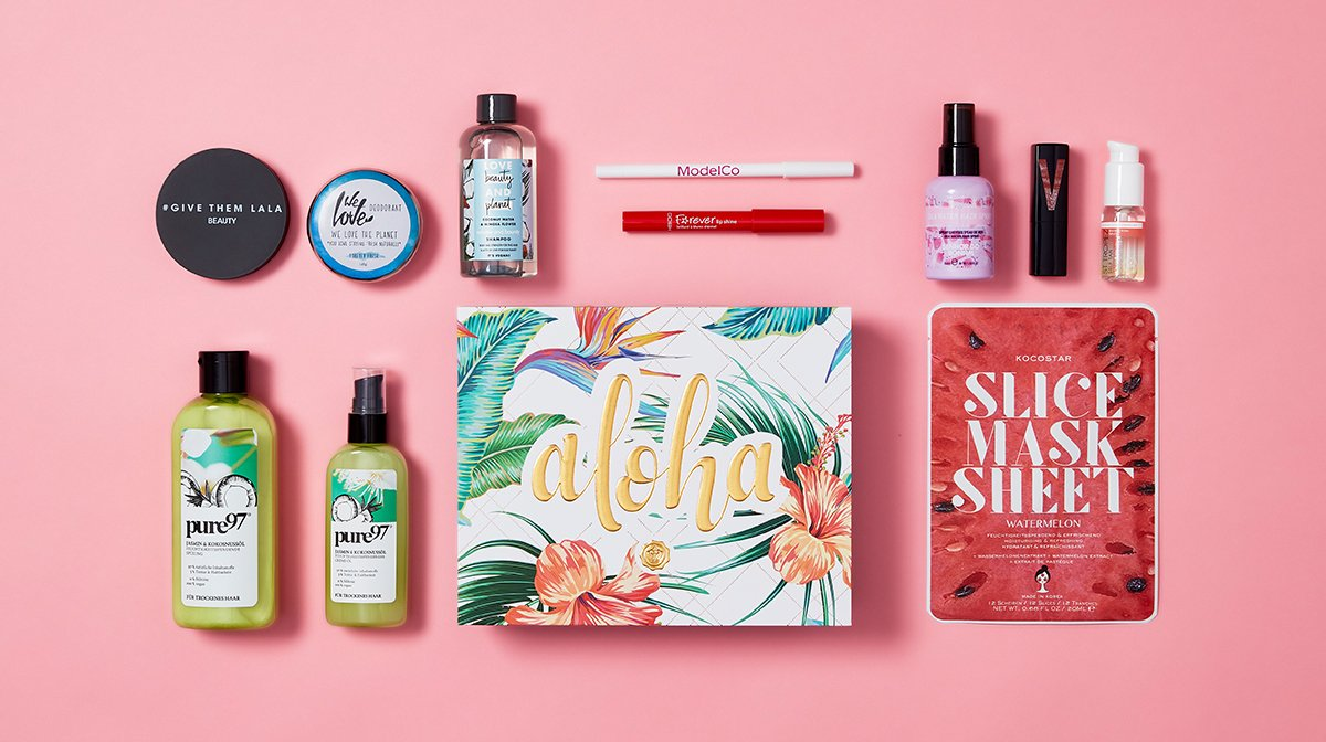 Unboxing im Juli: Alle Topprodukte unserer Aloha Edition