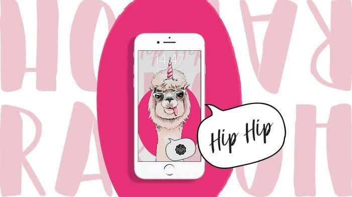Hip Hip Hooray! Die Glossy Wallpaper im Birthday Design sind da!