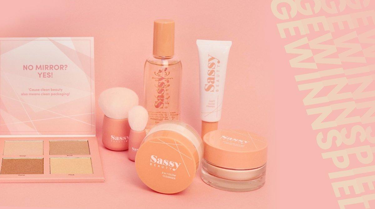 Gewinnspiel: Du stehst auf Clean Beauty? Gewinne dieses Sassy-Beauty-Set!