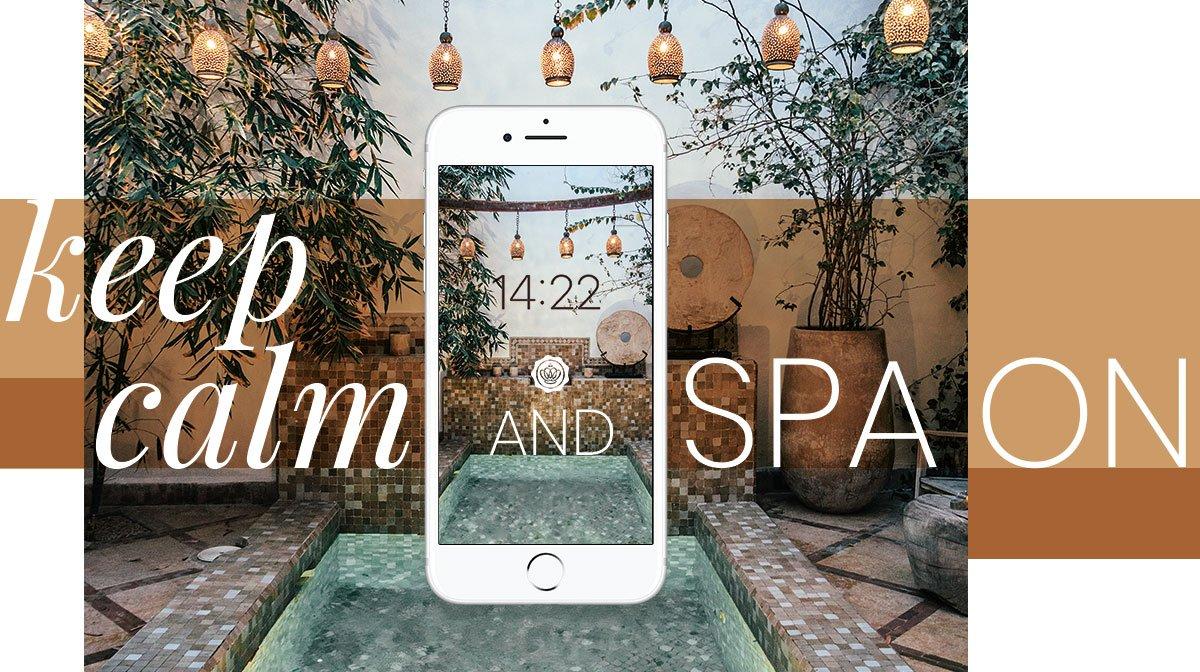 Glossy Wallpaper im September: Relax to the max und hübsche dein Smartphone auf