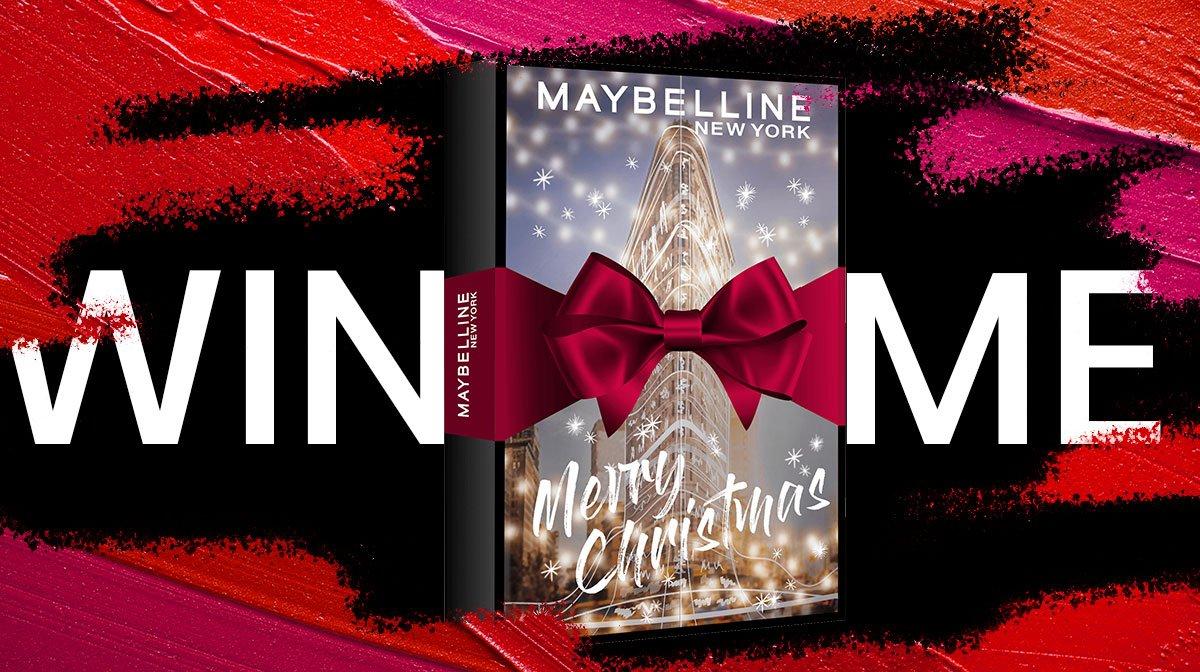 Gewinnspiel: Hol dir den Adventskalender von Maybelline!
