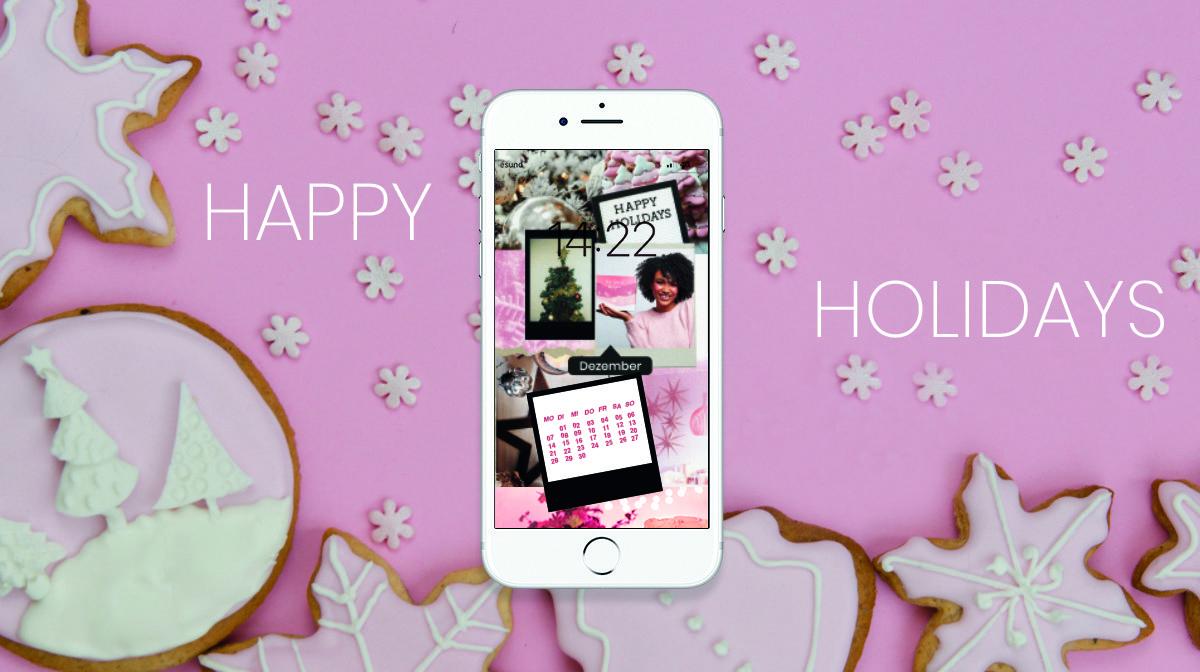 Glossy Wallpaper im Dezember: Cozy Weihnachtsstimmung für dein Smartphone!
