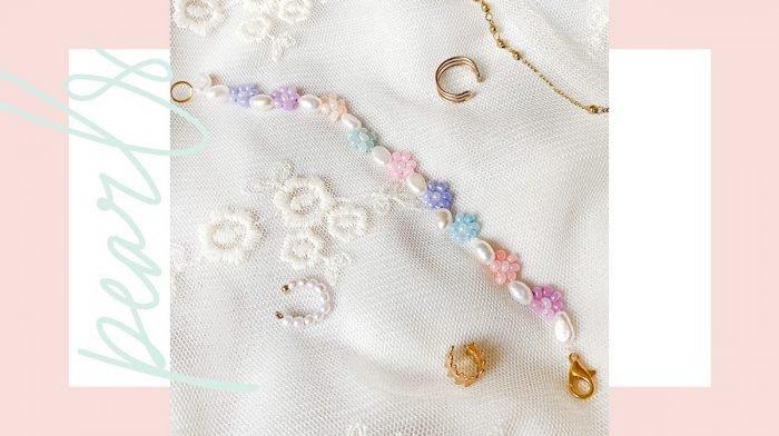 Glossy DIY: Bastle dir dein frühlingshaftes Daisy-Armband