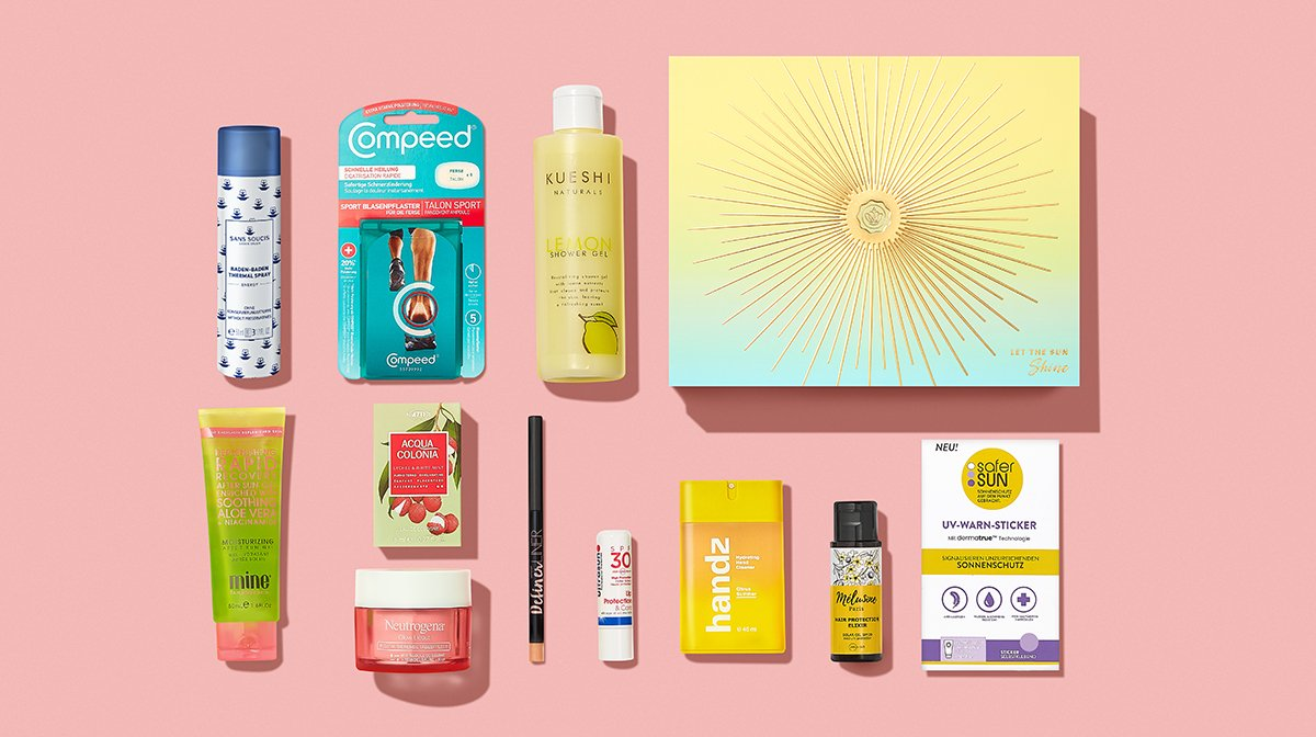 Unboxing im Mai: Unsere Top-Produkte der Let the Sun Shine Edition