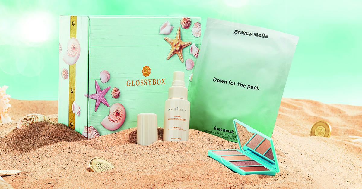 glossybox-sneak-peek-juli-beauty-treasures-edition-fußmaske