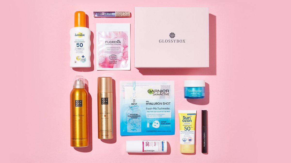 unboxing-juni-2021-poolside-paradise-edition-glossybox-topprodukte