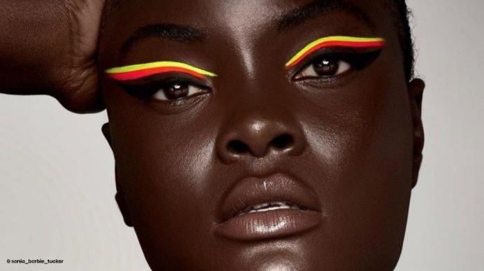 Wir lieben buntes Make-up