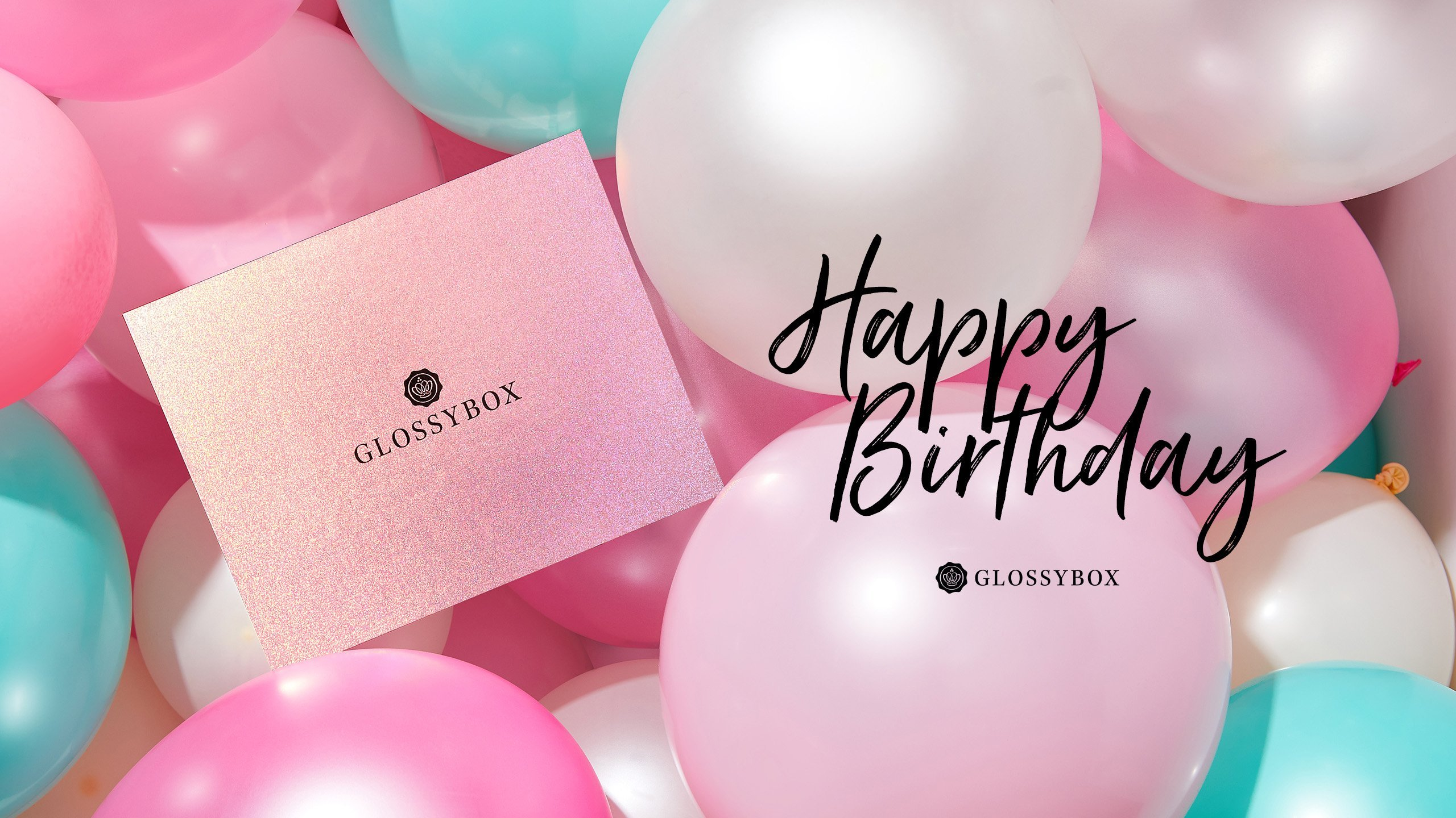 Les wallpapers d'août – Happy birthday Glossybox!