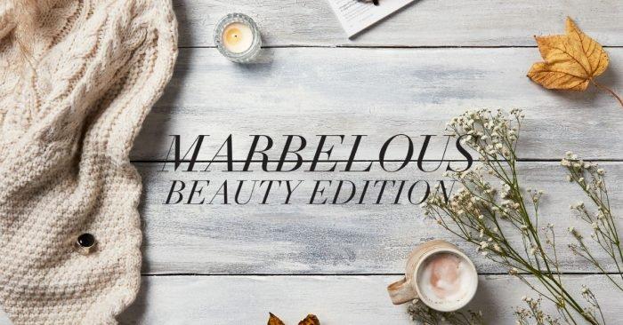 """""""Marbelous Beauty"""" - votre GLOSSYBOX de décembre"""