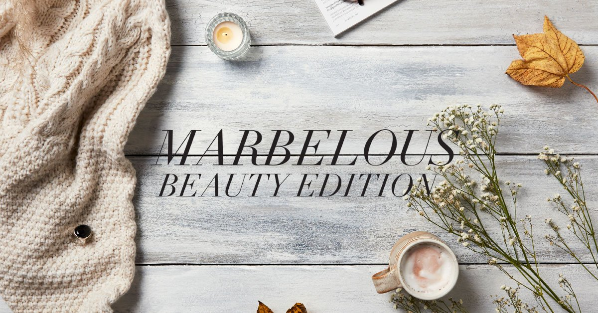 """""""Marbelous Beauty"""" – votre GLOSSYBOX de décembre"""