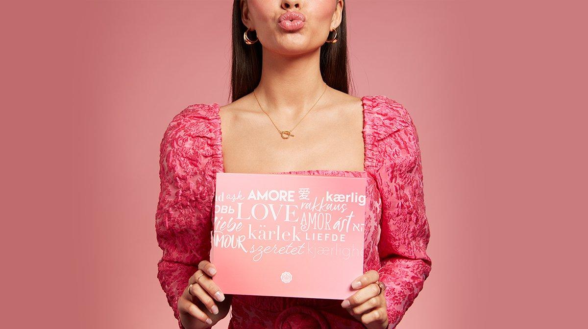 Le mois de l'amour avec votre GLOSSYBOX «Love Crosses Borders»