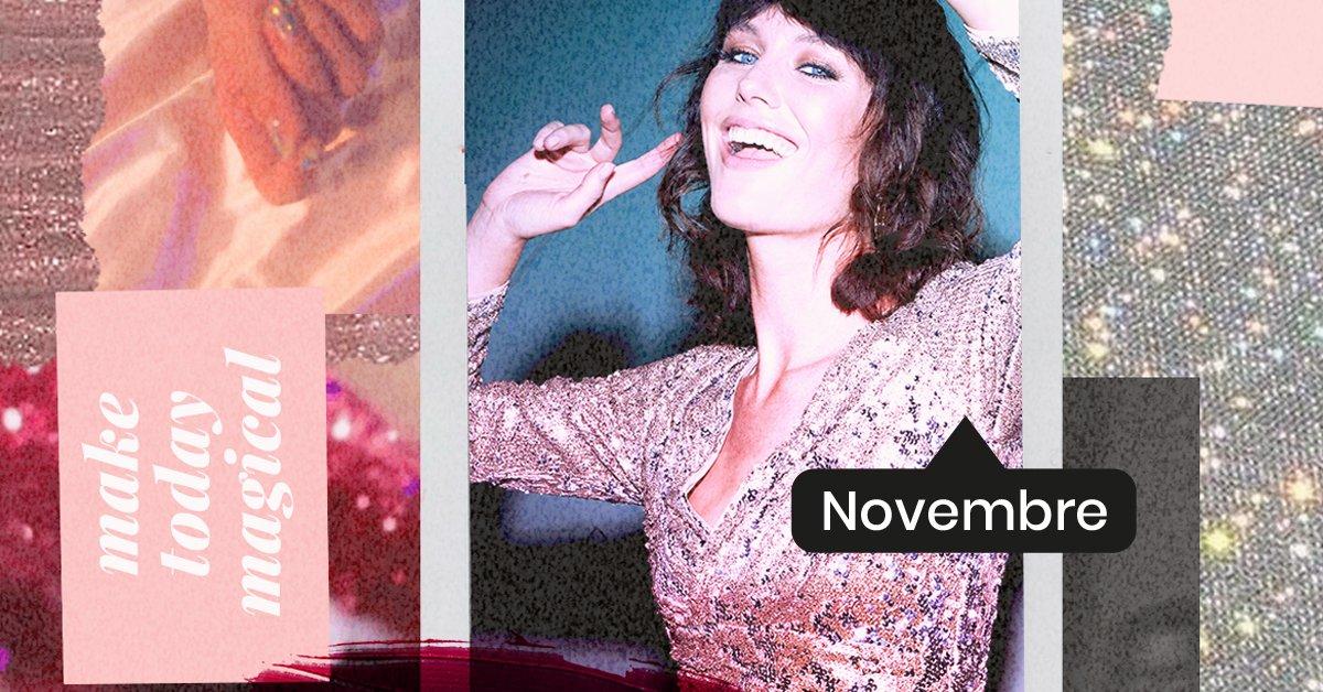 En novembre, découvrez l'édition Makeup & Magic