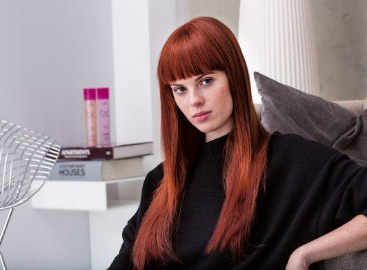 Behåll ditt färgade hår glansigt och fräscht