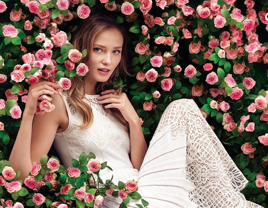 Blomstrande perfektion från Oscar de la Renta