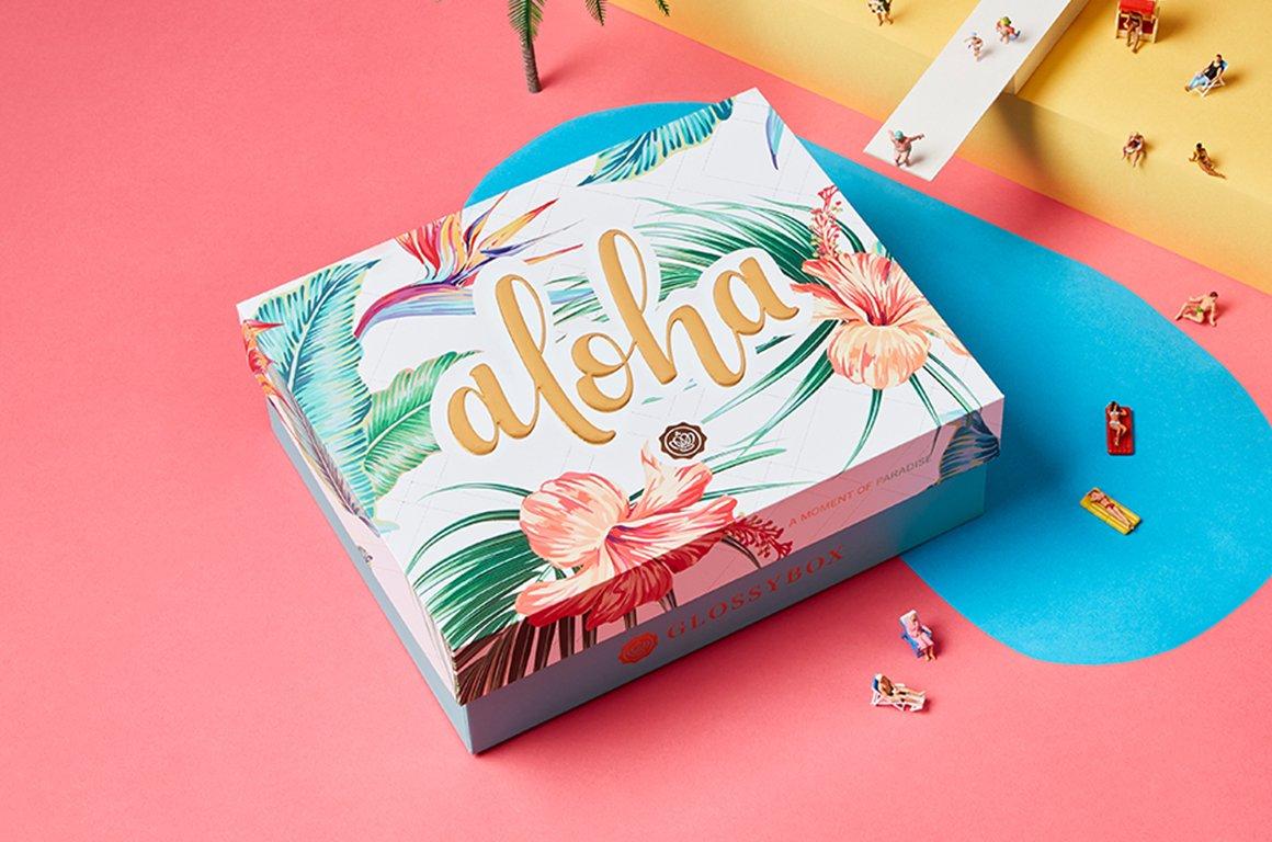 Aloha, glossies - specialdesignade juliboxen är här!