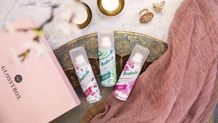 Fräscht hår med torrschampo från Batiste