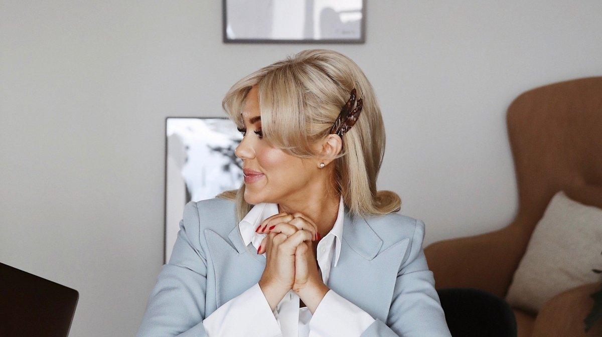 """Isabella Löwengrip: """"Så stylar jag mitt hår"""""""