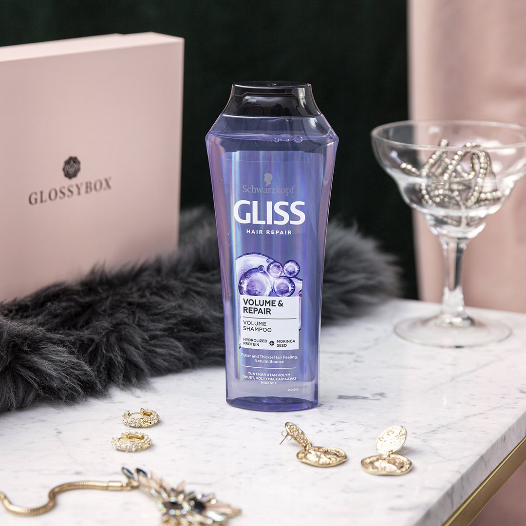 Några Glossies fick testa nya GLISS Volume & Repair!
