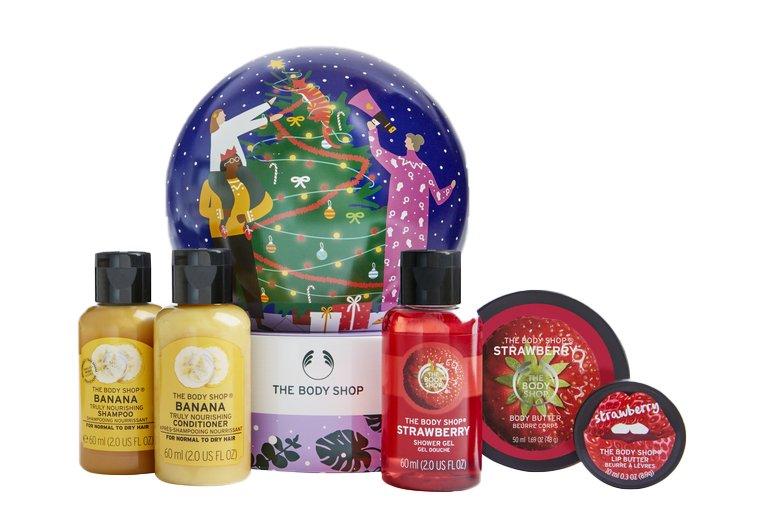 Sista minuten klapp från The Body Shop – årets donationsgåva The Snowglobe!
