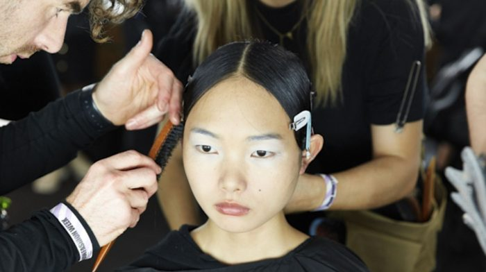 London Fashion Week: Backstage at Richard Malone