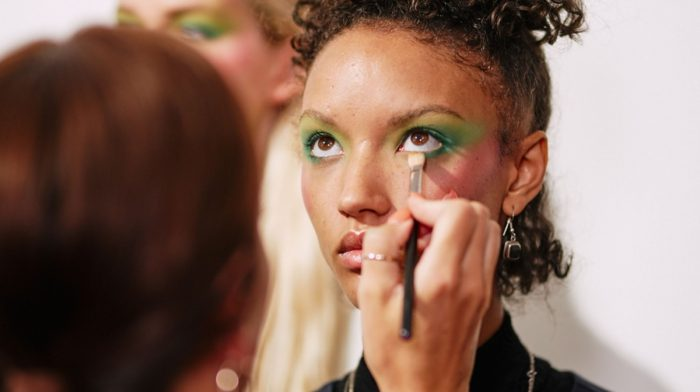 London Fashion Week Day 1 : Backstage at Mark Fast