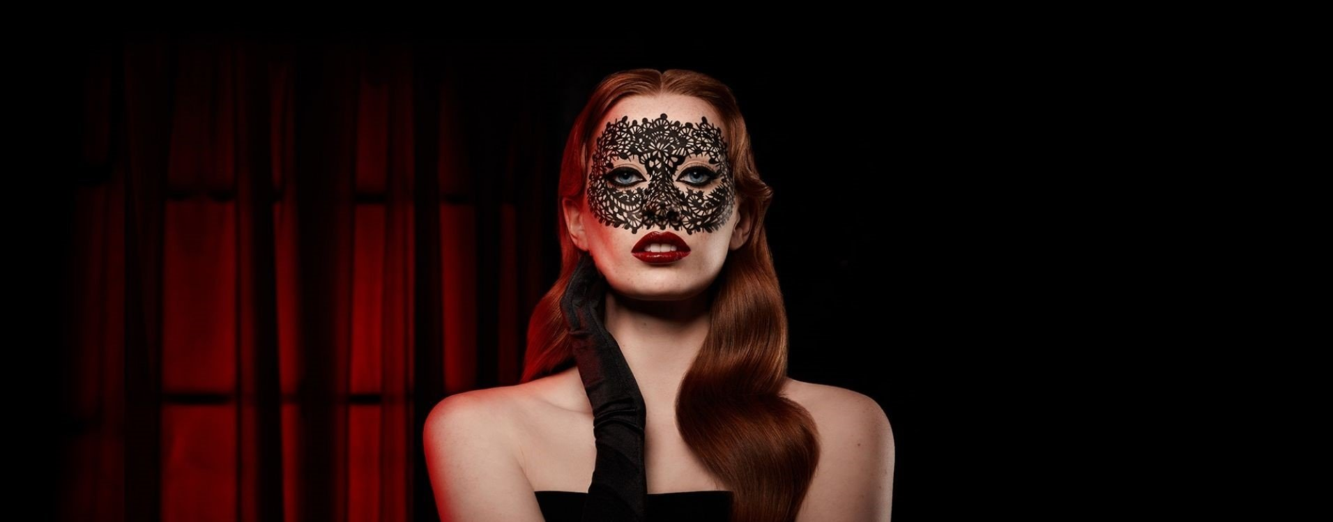 FRIGHT OR ENTICE: LACE MASK HOW TO