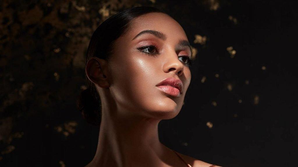 glowing makeup base