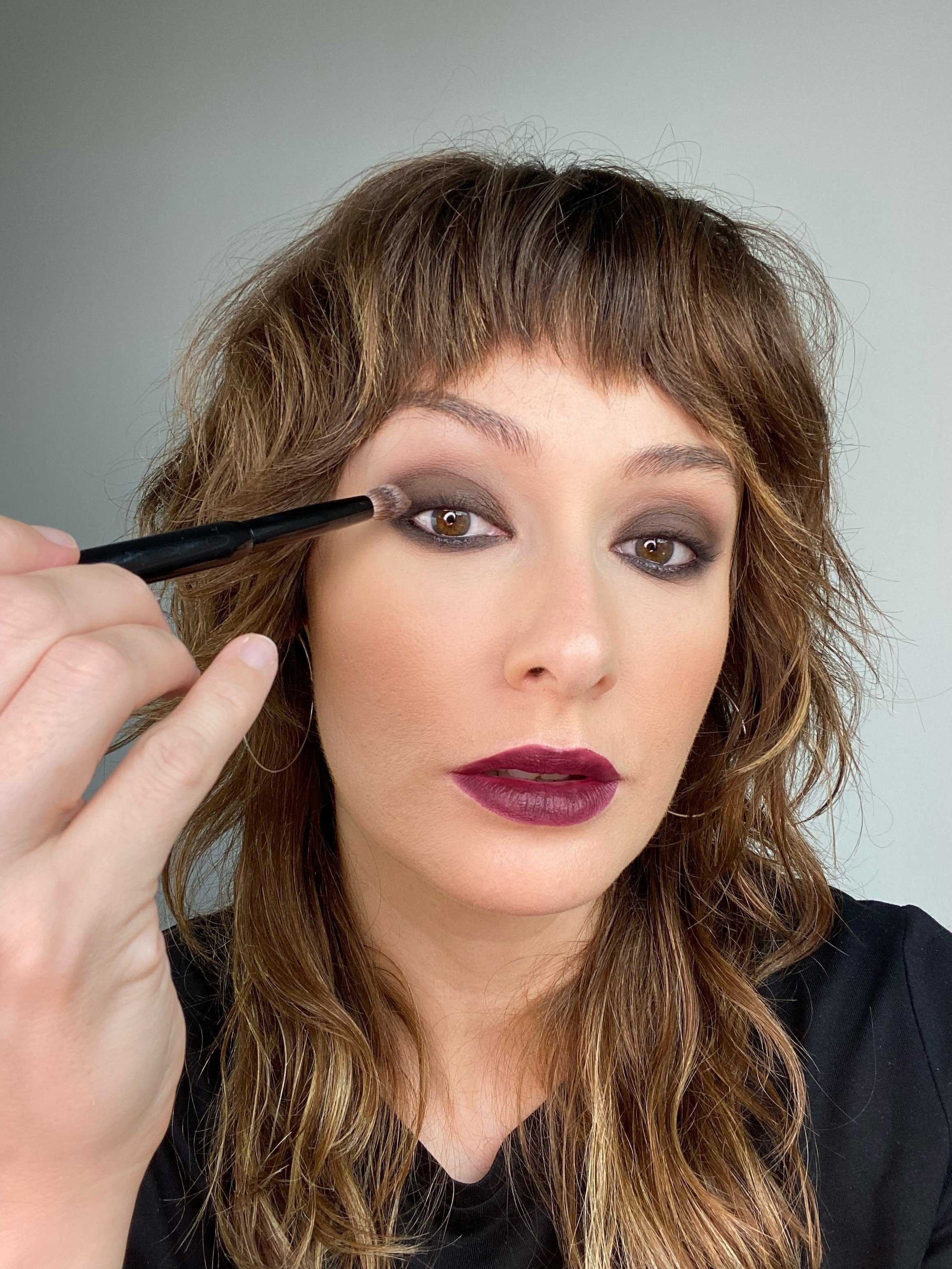 Witchy eye makeup tutorial