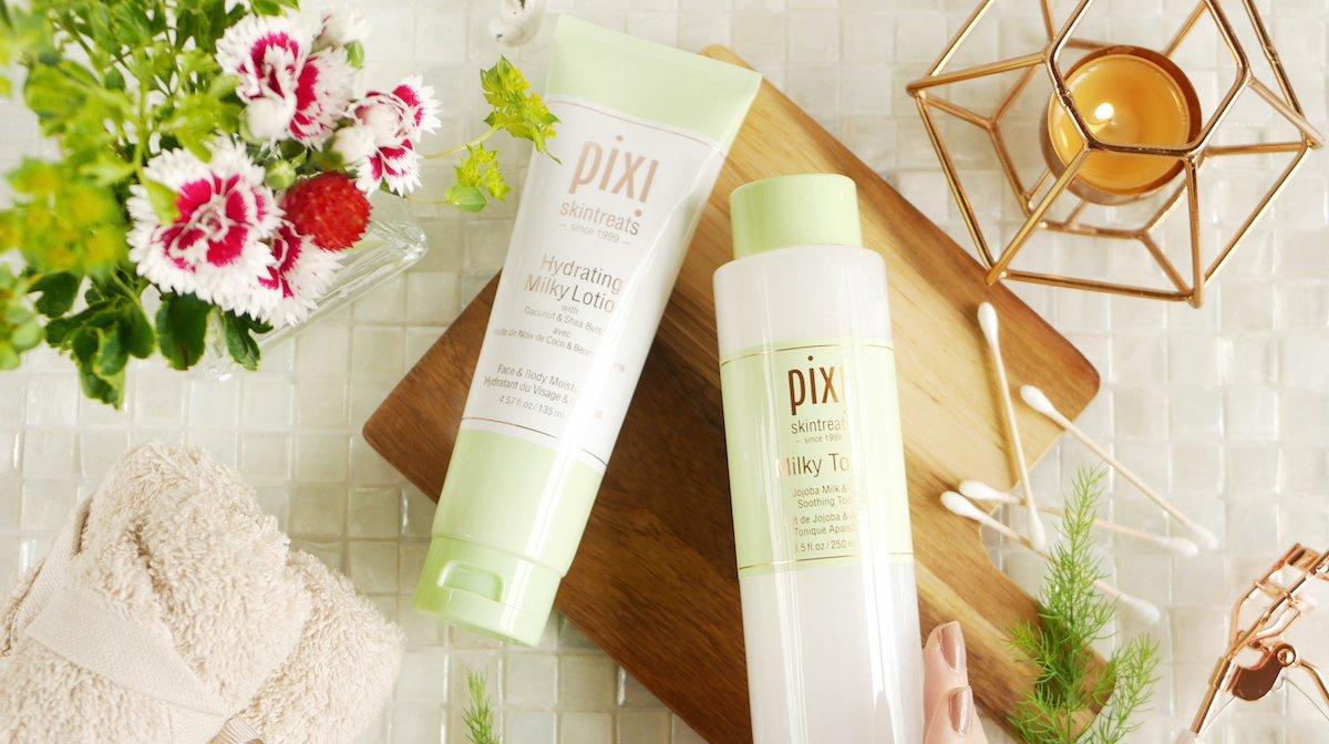 Pixi Beautyの新シリーズでうるおう素肌を叶える!おすすめ化粧水&モイスチャライザーをご紹介