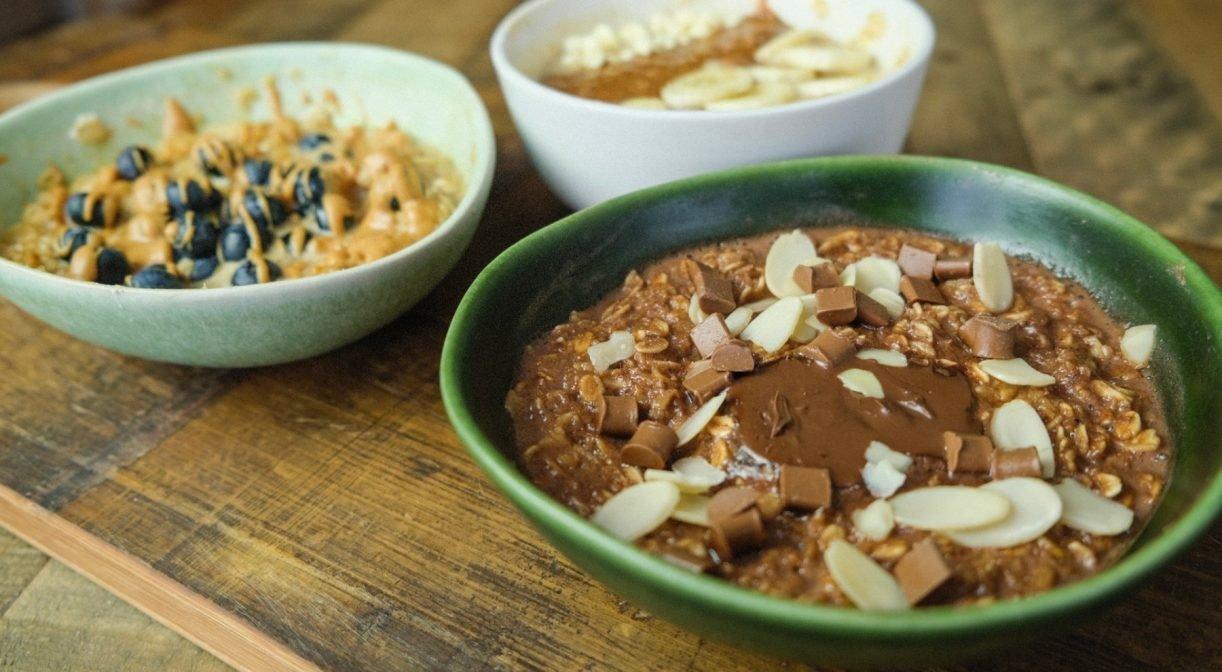 Protein Oats 3 Ways   Easy Breakfast Wins