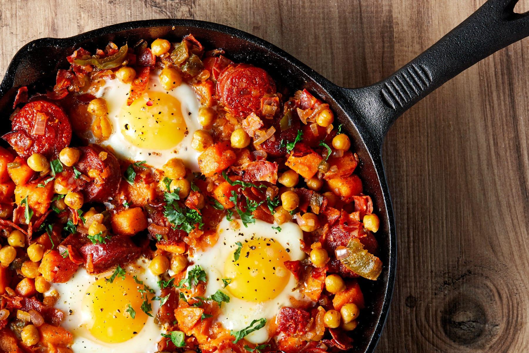 Sweet Potato Hash Recipe   Tasty Muscle-Building Breakfast