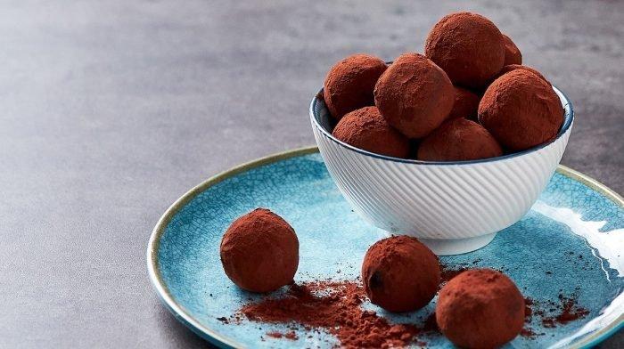 Irish Coffee Protein Truffles | World's Kitchen