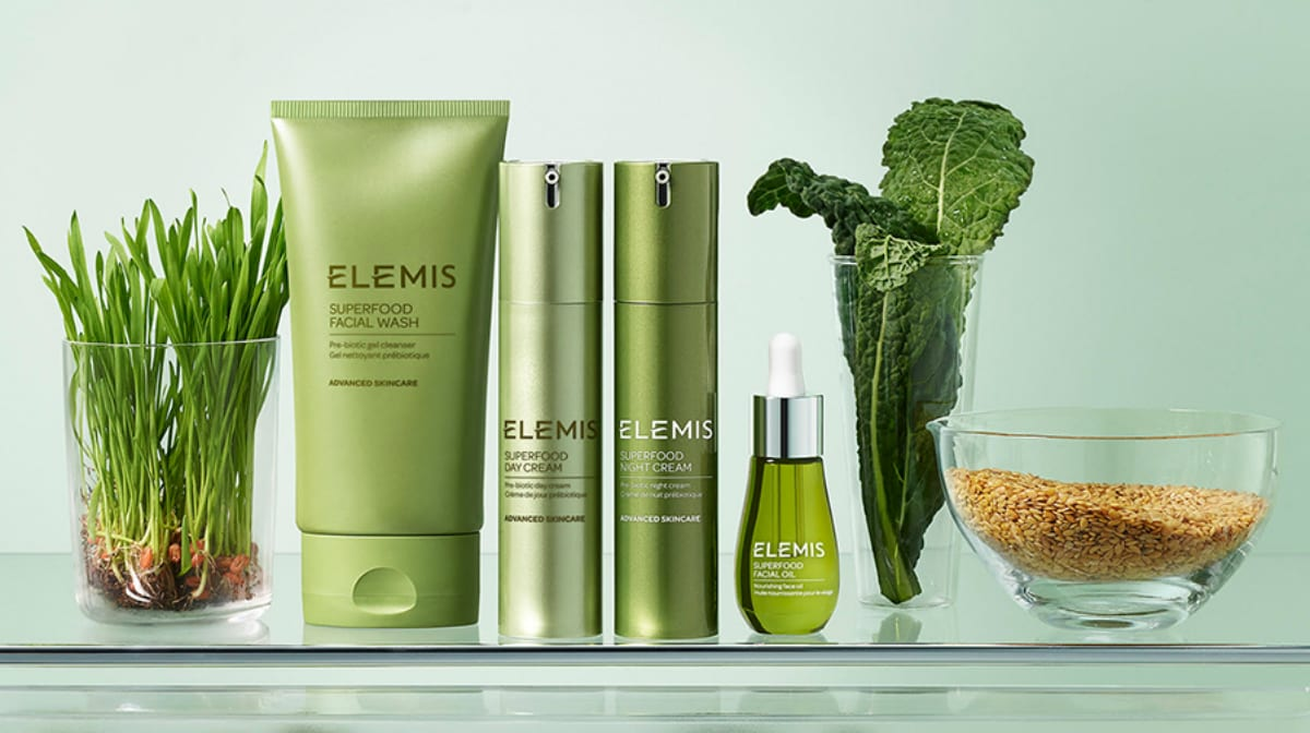 Питайте свою кожу с Superfood Skincare System от Elemis