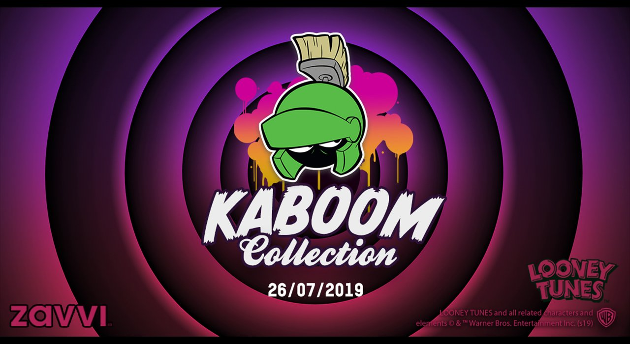 Lancements: Collection Kaboom - Looney Tunes