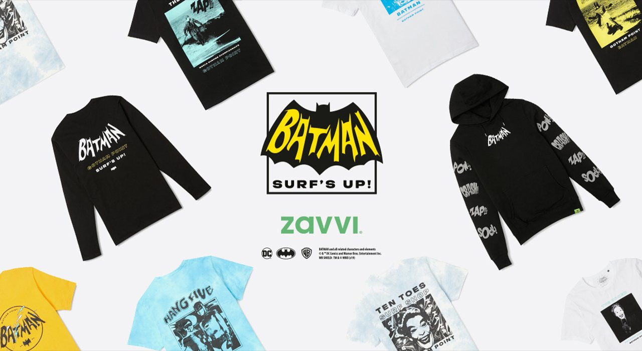 Lancements: Collection Batman Surf