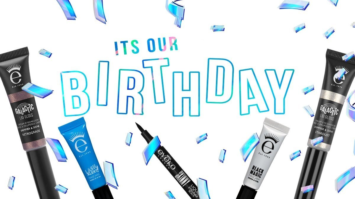 Cue the confetti | Give your peepers some birthday treats!