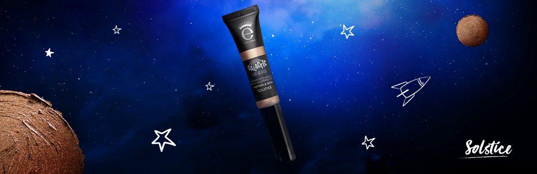 Eyeko Galactic Lid Gloss Solstice Gold Cream Glitter Eyeshadow