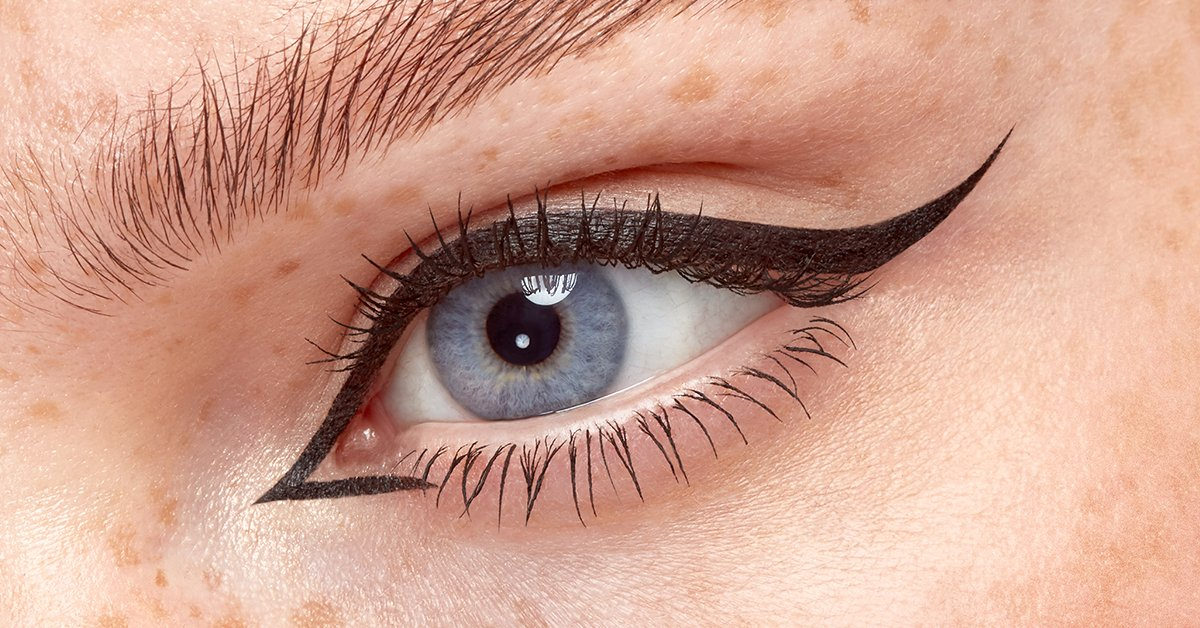 Eyeko Ways to Boost Your Mood: Get Up and Get Ready. Winged Eyeliner