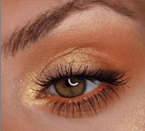 Gold Eyeshadow Makeup Instagram