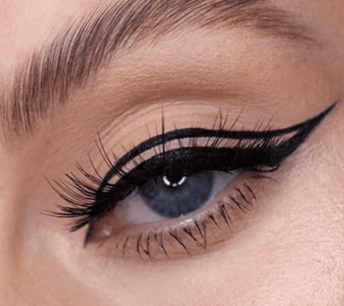 Floating Eyeliner: what it is and how to do it
