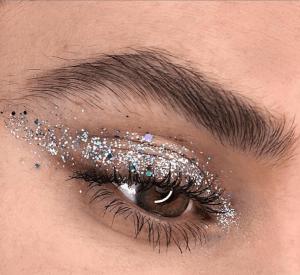 Glitter Eyeshadow Instagram Makeup