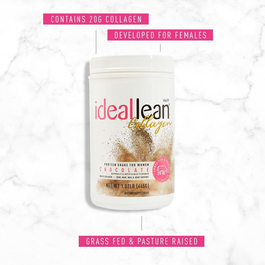 Ideallean collagen powder is developed for females