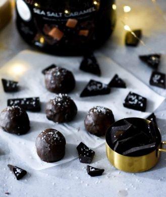 Dark Chocolate Sea Salt Caramel Recipes
